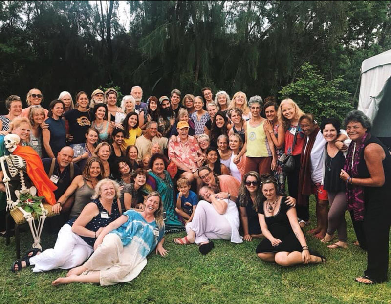 The Doorway Into Light 2019 International Death Doula Training.<br>Photo by Matthew Nall.</br>